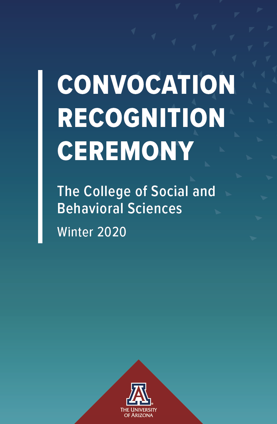 2020 SBS Winter Convocation Program