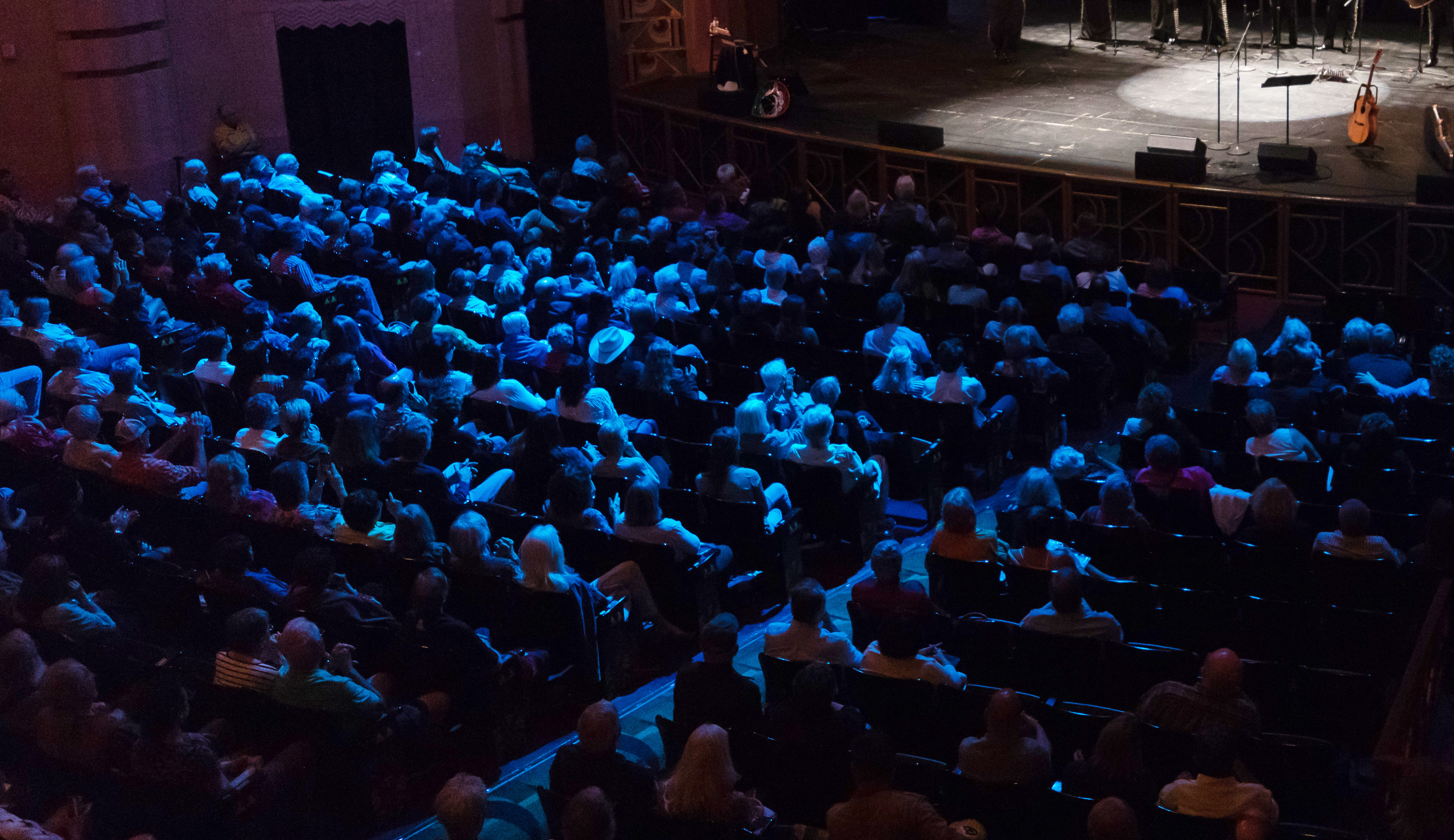 Crowd at Fox Theatre