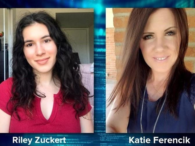 Riley Zuckert and Katie Ferencik