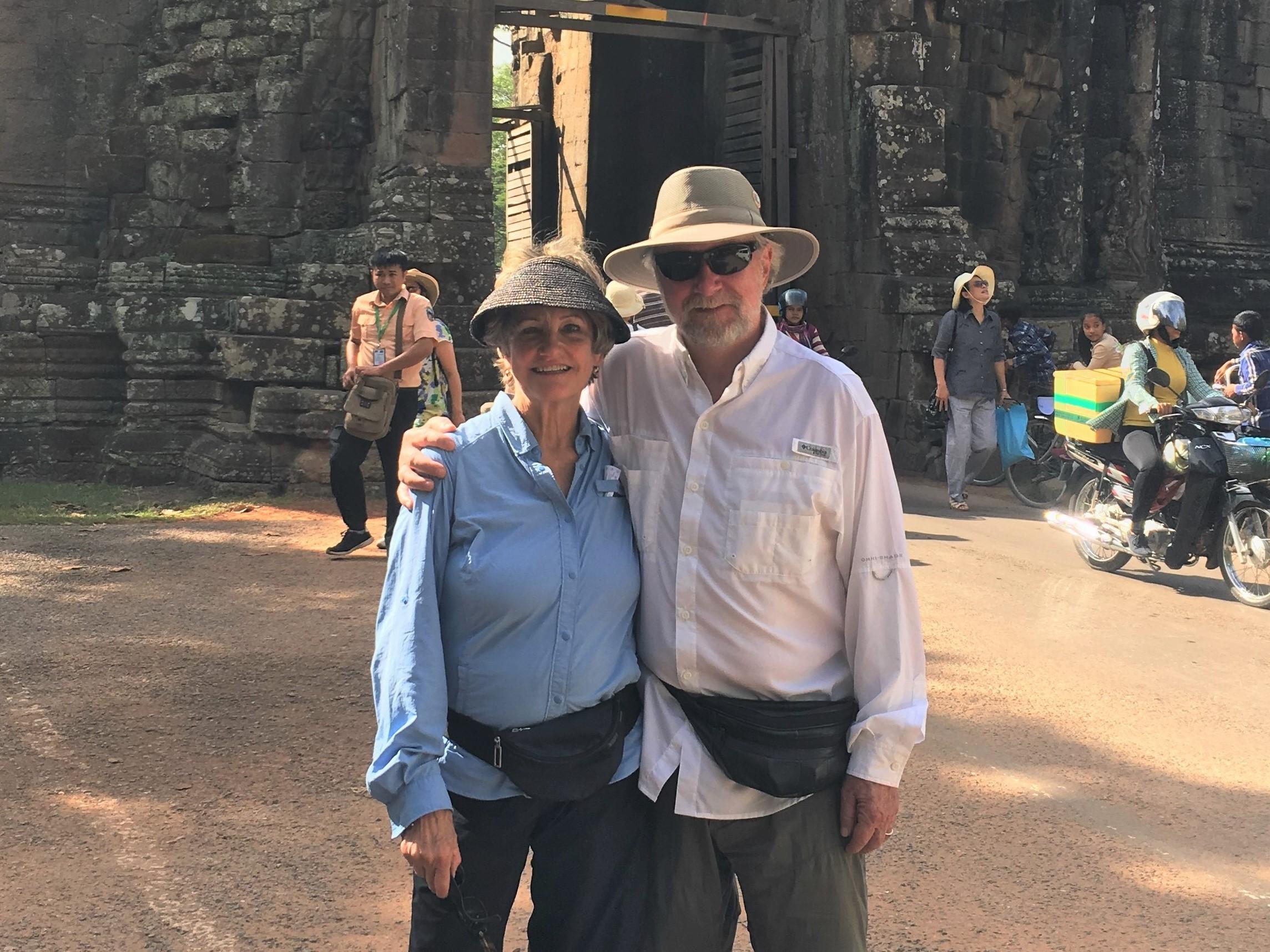 Margy McGonagill and Garry Bryant during Magellan Circle trip to Vietnam