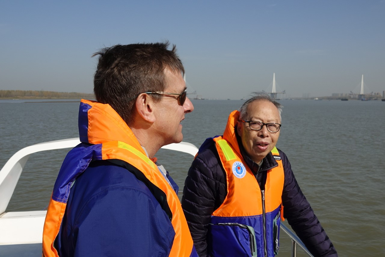 David Piet and Zhou Kaiya
