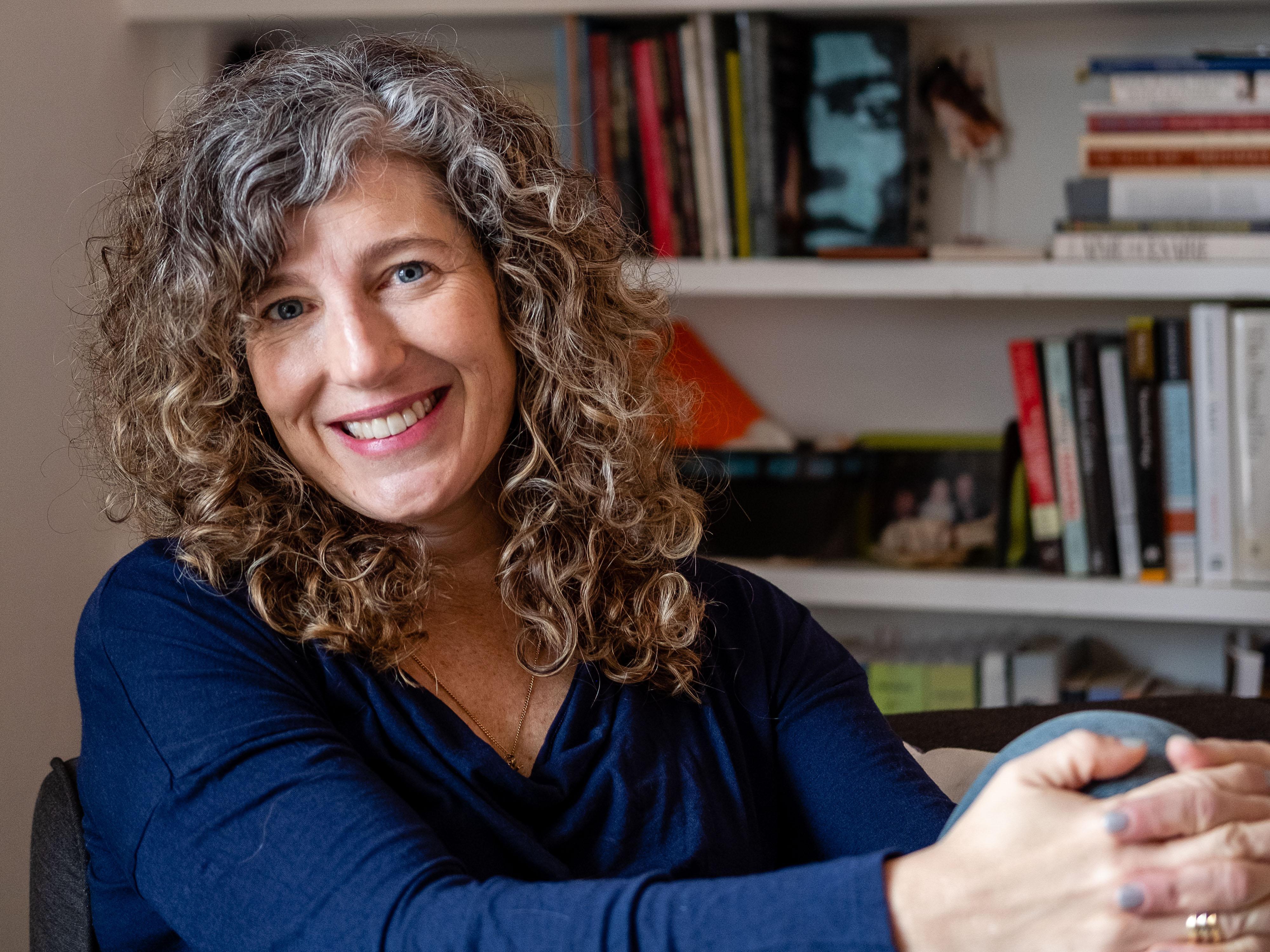 Susan Briante. Photo by Bear Guerra.