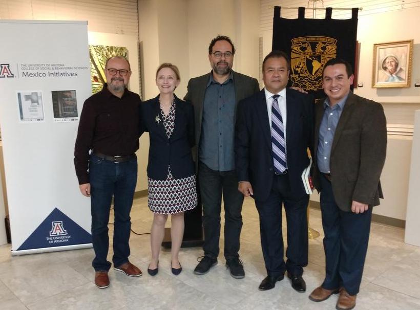 David Vazquez, Jennifer Jenkins, Juan Carlos Barron, Hon. Amb. Ricardo Pineda A., Luis E. Coronado-Guel