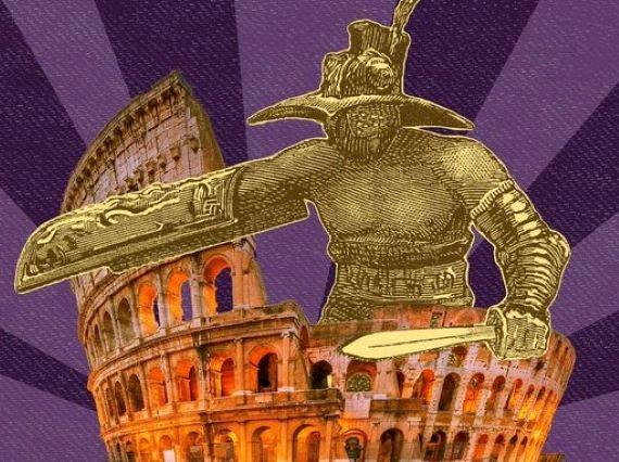 illustration of gladiators