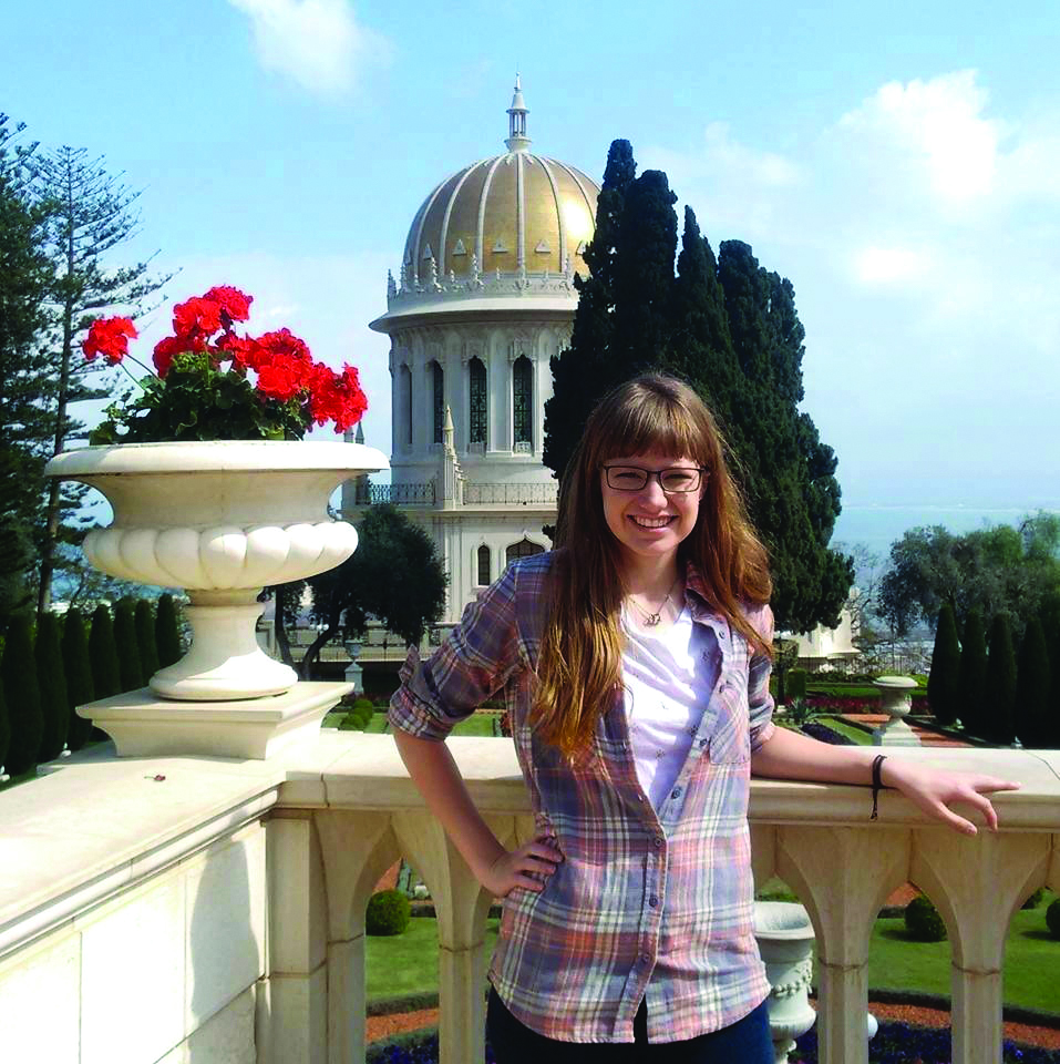 Photo of study abroad student in Israel