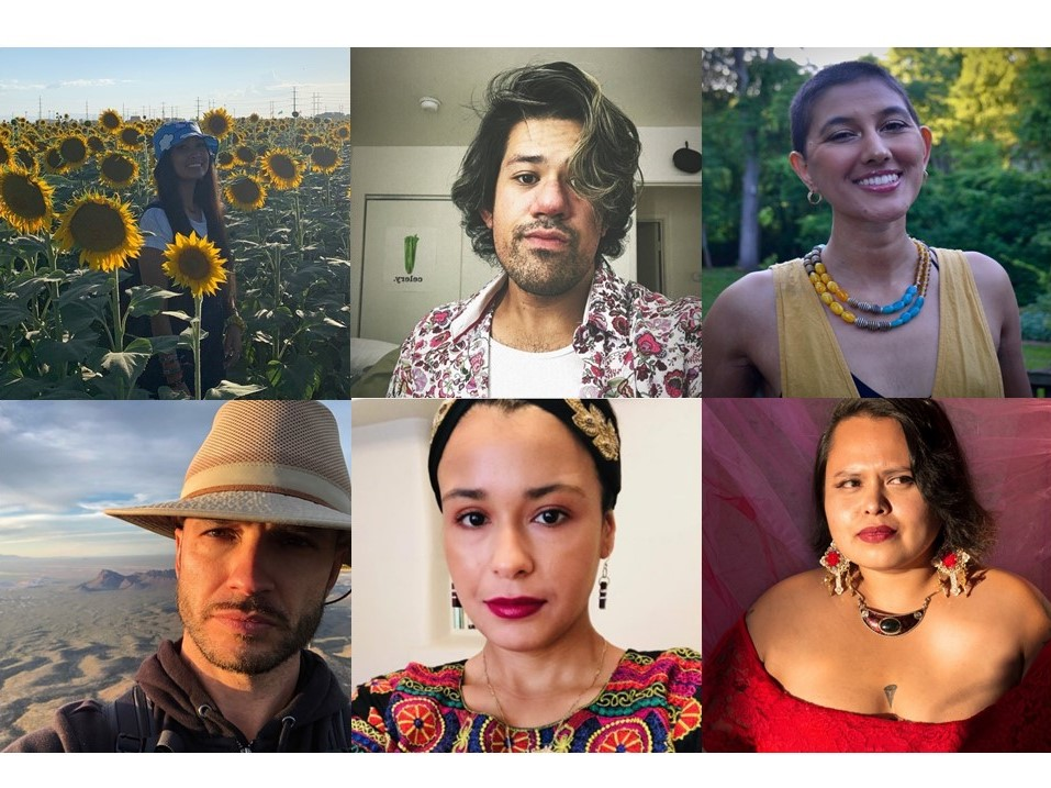 Recipients of the UArizona Creative Writing Fellows for Crossing Latinidades