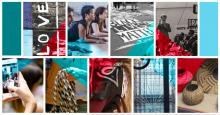 montage of fall 2021 SBS Community Classes