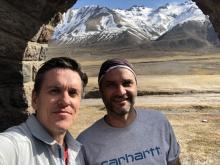 Christopher Scott and Facundo Martin in Argentina