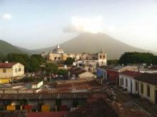 roofttop at Guatemala