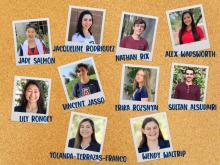 SBS ambassadors graduating in 2021