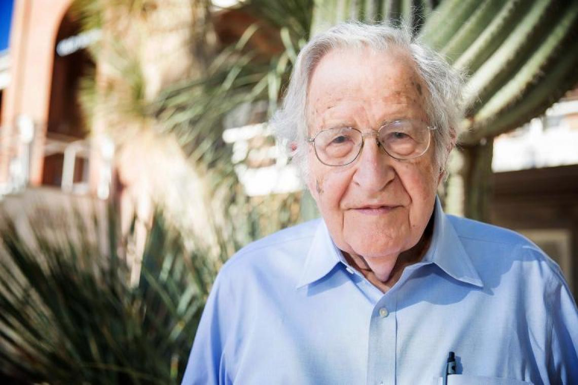 Noam Chomsky at the University of Arizona