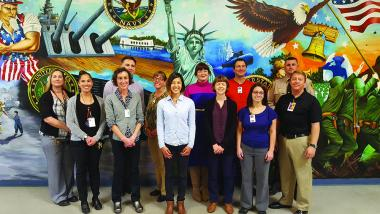 UA instructors and graduate students in course at the Whetstone Unit in the Arizona State Prison Complex