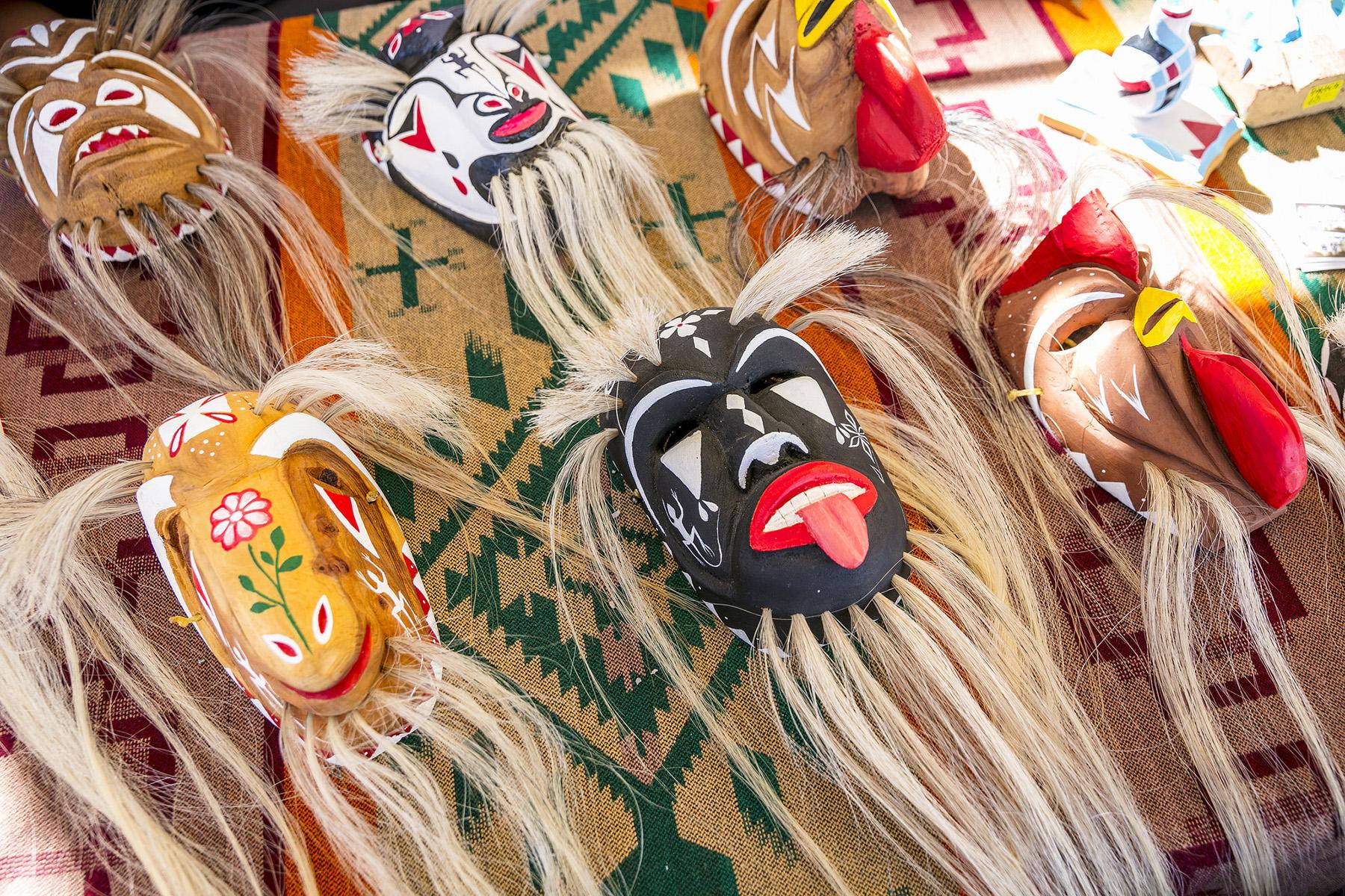 photo of yaqui masks